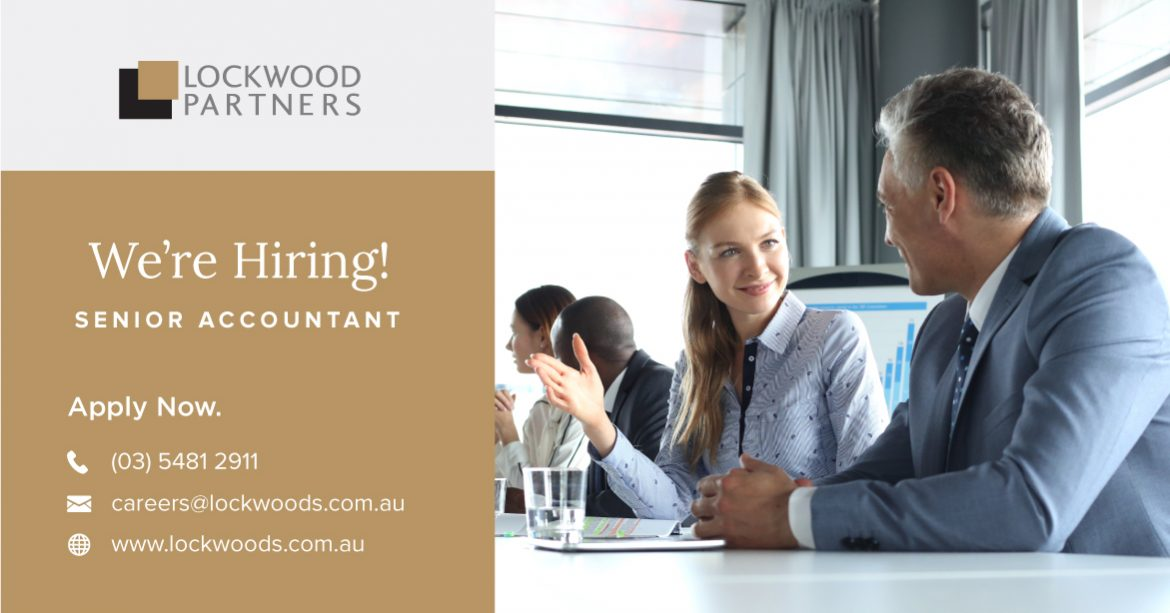 Lockwood Partners are seeking experienced accountants to join our team
